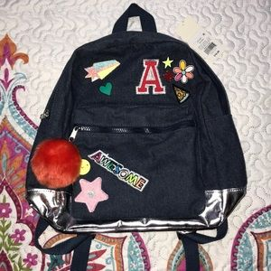 Small child's back pack.